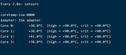 Linux查看cpu温度-家里蹲的狐狸